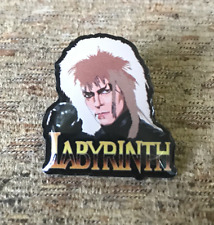 David Bowie Labyrinth Enamel Pin Badge Top Quality FREE P&P
