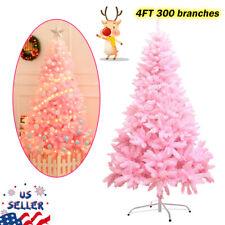 Pink Sakura Christmas Tree 4 Feet Small Artificial Xmas Tree With PVC Holiday