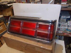 Mopar NOS Tail Lamp Assembly Rt. 77-78  Dodge Diplomat 4Door.