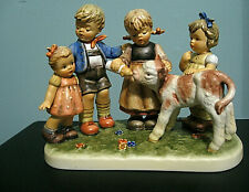 Goebel M J Hummel Large Moments In Time Collection Farm Days L/E No 2707 /5000