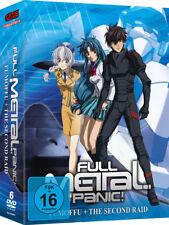 Full Metal Panic! - Fumoffu + The Second Raid - DVD - NEU