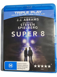 Super 8 Produced By Steven Spielberg         BLU-RAY NEW And SEALED