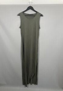 ALLSAINTS TURO VI Dress - Size UK14 - Khaki - Great Condition - Women's