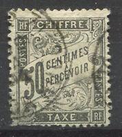 Francia 1881 Yv. 20 Usato 20% Segnatasse 50 c,