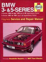 BMW 3 Series 1983-1991 5 Series 1981-91 Petrol engines Haynes workshop manual