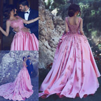 Elegant Beaded Quinceanera Dress Appliques Prom Ball Gown Formal Evening Dresses