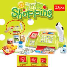 23pcs Cashier Toy Cash Register Playset | Pretend Play Set for Kids | Checkout