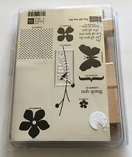 Stampin' Up! For All You Do Thank You Unmounted Rubber Stamps Missing 1