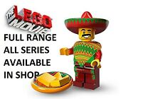 Lego minifigures taco tuesday guy lego movie series (71004) new factory sealed