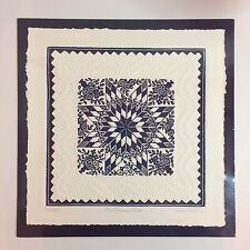 Multiple Embossed Quilt Prints The Alliance Star - Judy Severson Numbered SIGNED