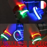 Sports Ceinture Sécurité Réfléchissant Bras Brassard Nuit Cyclisme Brassard LED