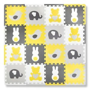 Soft EVA Foam Kid's Play Mat Puzzle Exercise Baby Living Room Carpets Cushioned