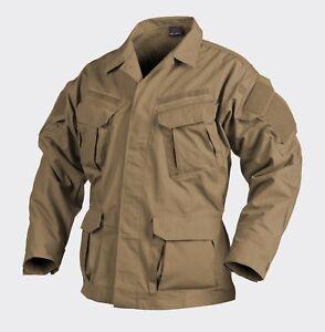 HELIKON TEX® SFU NEXT® Military Mens Field Jacket Shirt Ripstop - Coyote
