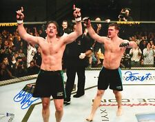 Forrest Griffin Stephan Bonnar Signed 11x14 Photo BAS COA UFC Ultimate Fighter 1