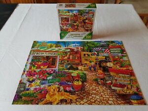 "Master Pieces Signature Collection 500 Piece Jigsaw Puzzle ""Sale On The Square"""