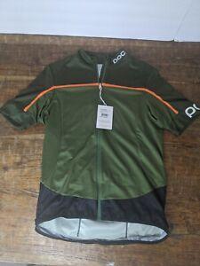 POC Essential Road Block jersey pentlandite multi- green size medium. NWT