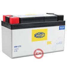 Magneti Marelli MM-LT2 12,8V 5AH Batteria al Litio per Moto - Bianca/Nera
