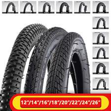 Universal Bicycle Tires MTB Bike 12/14/16/20/24/26* 1.75/1.95/2.4''