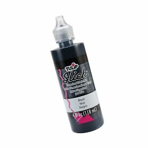Tulip 41401 Dimensional Fabric Paint 4oz Slick Black