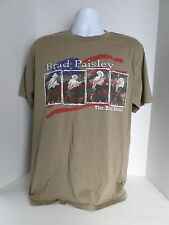 Adult Brad Paisley The Real Deal T-Shirt Short Sleeved 100% Cotton size-L