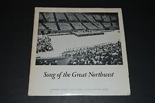 Song Of The Great Northwest - Portland Public Schools 1964 FAST SHIPPING!