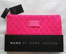 "NEW Marc by Marc Jacobs 11"" Laptop Sleeve Knockout Pink Dreamy Logo Macbook Air"