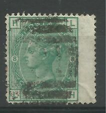 1873/80 Sg 150, 1/- Green (LH) Plate 8, good to fine used. {SGB-15}