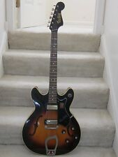 Vintage1965 Hagstrom Viking Electric Guitar- dark sunburst,new Hagstrom case