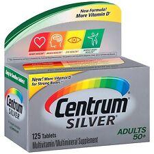 Centrum Silver Adult Multivitamin/Multimineral Supplement (125-Count Tablets)