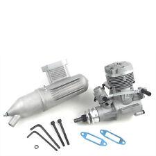 V-Motor GX 61 mit Schalldämpfer 2-Takt Nitromotor für RC-Flugmodelle Kyosho 7424