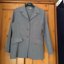 Select Ladies Grey Pin Stripe Jacket Size 14