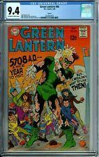 GREEN LANTERN 66 CGC 9.4 - CIRCLE 8 PEDIGREE COPY DC SILVER AGE - 1969