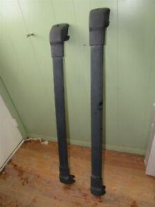 03-08 Subaru Forester - Roof Rack OEM Cross Bar Set Tie Down Rail
