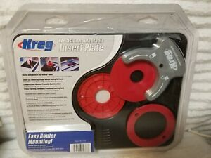 NEW KREG PRS4036 PRECISION ROUTER TABLE INSERT PLATE NEW