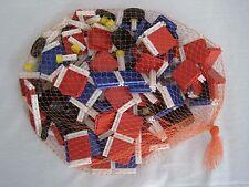 Vintage Tuppertoys Tupperware Build-O-Fun Set Plastic Building Blocks Wheels