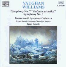 Kees Bakels, Vaughan - Sinfonia 7 / Sinfonia Antartica / Sinfonia 8 [New CD]