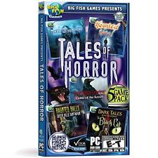 Tales of Horror 5 Pack by Big Fish Games - Brand New & Sealed-Fast Ship! SF0010