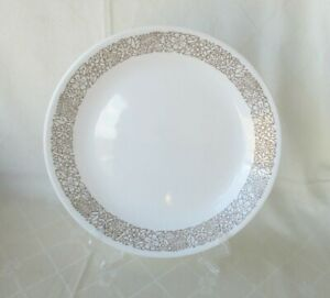 Corelle Corning USA Replacement Dinner Plate *Brown Woodland Pattern*   VGC