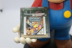BIONIC COMMANDO NINTENDO GAMEBOY COLOR GAME FREE POSTAGE