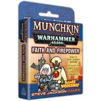 Munchkin Faith and Firepower Expansion - Warhammer 40000 40k