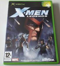 """Jeu XBOX """"X-Men Legends"""" complet en boîte (n°550)"""