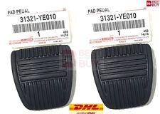 x2 Genuine Original OEM Toyota Clutch Brake Braking Pedal Pad Rubber Car Pickup