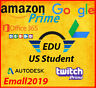 Edu Email US✅ 6 Months Amazon Prime ✅ Unlimited Google Drive✅Student Email NEW