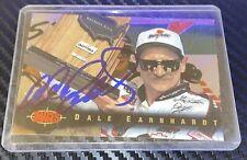 Dale Earnhardt autographed card 1995 CLASSIC IMAGES WINSTON CUP DAYTONA VINTAGE