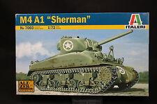 XU152 ITALERI 1/72 maquette tank char 7003 M4 A1 Sherman