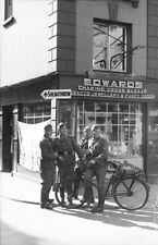 German Army Soldiers Bicycle Guernsey 1941 World War 2 Reprint Photo 6x4""