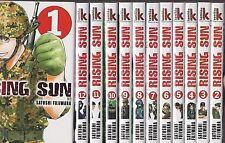 RISING SUN tomes 1 à 12 Satoshi Fujiwara MANGA shonen SERIE en français