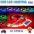 5050 RGB 5M 300 LEDS SMD LED Strip Light Strip lights 12V 24 KEY IR Controller