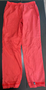 Vintage Performance Cycling Wear Red Pants Women's Size M Medium F2065