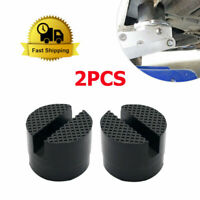 2x Coussinet Caoutchouc Bloc Hydraulique rampe Pads Trolley Jack Adaptateur